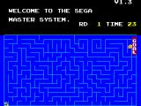 SEGA Master System (included games) SEGA Master System Snail Game Round 1