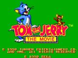 Tom and Jerry: The Movie SEGA Master System Title