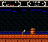 Disney's DuckTales 2 NES At a ship.