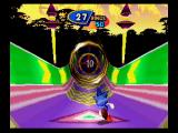 Sonic 3D Blast SEGA Saturn The Special Stage is very similar to those found in Sonic 2.