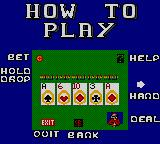 Poker Face Paul's Poker Game Gear How to play Video Poker