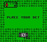 Poker Face Paul's Poker Game Gear Video Poker: place your bet