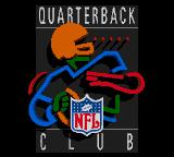 NFL Quarterback Club Game Gear Title screen