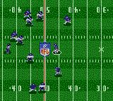 NFL Quarterback Club '95 Game Gear Rushing