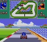 Sonic Drift 2 Game Gear Emerald Hill 1