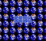 Sonic Labyrinth Game Gear SEGA screen