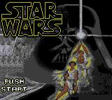 Star Wars Game Gear Title screen