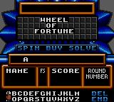 Wheel of Fortune: Featuring Vanna White Game Gear Solve