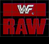 WWF Raw Game Gear Title screen
