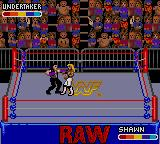 WWF Raw Game Gear Undertaker punches.