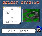 Extra Innings SNES Select a stadium