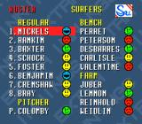 Extra Innings SNES A team roster