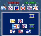Extra Innings SNES 6 teams can compete for the pennant