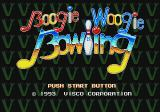 Championship Bowling Genesis Boogie Woogie Bowling title