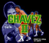 Chavez II Genesis Title screen