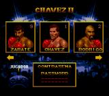 Chavez II Genesis Fighter selection