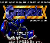 Granada Genesis Title screen