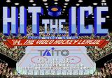 Hit the Ice: The Video Hockey League Genesis Title screen
