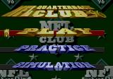 NFL Quarterback Club 96 Genesis Game Type