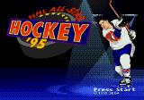 NHL All-Star Hockey '95 Genesis Title