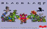 Black Lamp Amiga Title screen