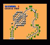 Chase H.Q. Game Gear Course map