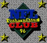 NFL Quarterback Club 96 Game Gear Title screen
