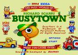 Richard Scarry's BusyTown Genesis Title