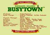 Richard Scarry's BusyTown Genesis Credits