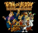 Tom and Jerry: Frantic Antics! Genesis Title