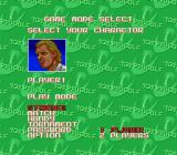 Top Pro Golf Genesis Mode/Character Select