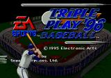 Triple Play 96 Genesis Title