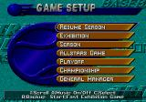 Triple Play 96 Genesis Menu