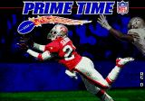 Prime Time NFL Football starring Deion Sanders Genesis Title