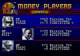 Prime Time NFL Football starring Deion Sanders Genesis Money Players Screen