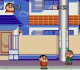 Crayon Shin-chan: Arashi o Yobu Enji Genesis Kid crying after I jumped on his head.
