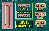 Gordo 106 Lynx Level Complete screen