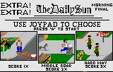 Paperboy Lynx Road selection