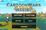 Cartoon Wars: Gunner iPhone Main Menu