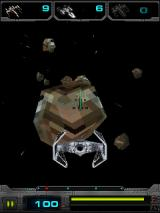 Star Wars: Imperial Ace J2ME Avoid hitting the asteroids
