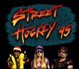 Street Hockey '95 SNES Title screen