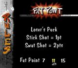 Street Hockey '95 SNES Rules for Fat Point