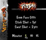 Street Hockey '95 SNES Rush rules