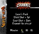 Street Hockey '95 SNES The rules of Crammit