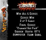 Street Hockey '95 SNES Tournament rules