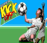 Super Kick Off Game Gear Title screen