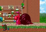 Bug! SEGA Saturn Jumping on the Insectia Boss