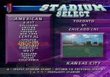 Frank Thomas Big Hurt Baseball SEGA Saturn Stadium Select