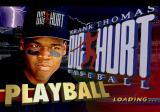 Frank Thomas Big Hurt Baseball SEGA Saturn Loading Screen