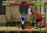 Mortal Kombat II SEGA Saturn Kitana is not a fan of Baraka